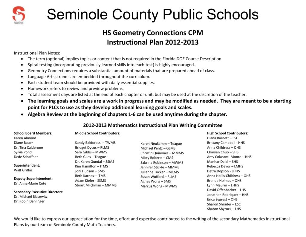 Unit title seminole county schools fandeluxe Choice Image