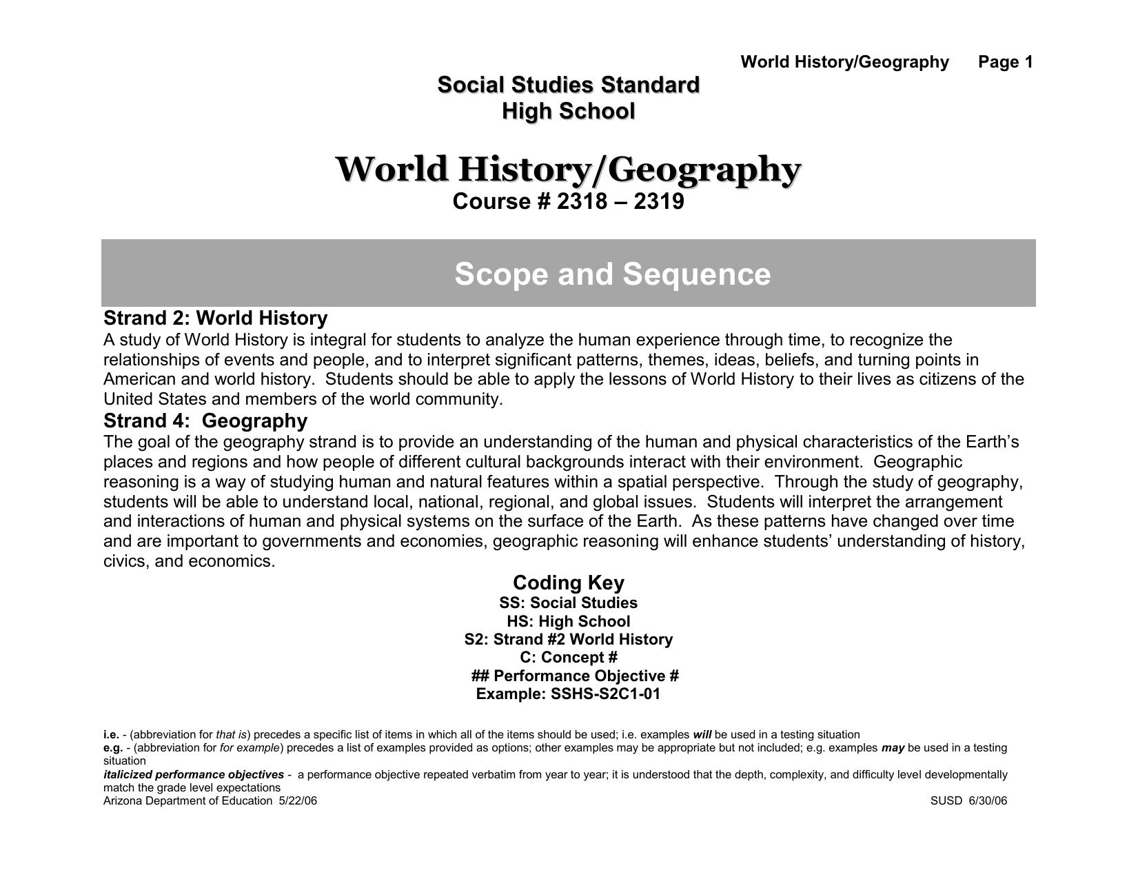 Workbooks ap human geography workbook : World History/Geography - Northside Middle School