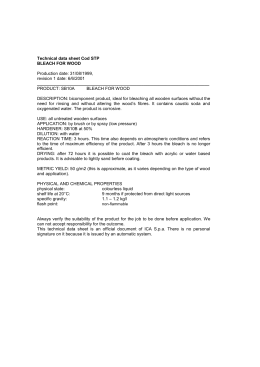 Technical data sheet Cod STP 13049