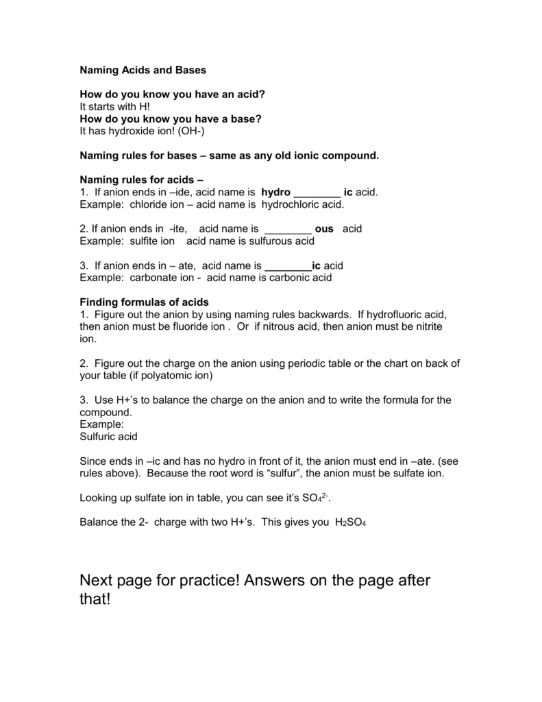 worksheet Naming Acids Worksheet Answers 008473129 1 495f9eae985c3edd6f26b46b8ff2a2a9 png