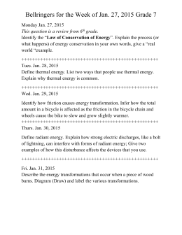 Unit 5 Worksheet 2 Energy Storage Conservation With Bar Graphs