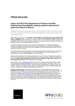 Capco press release