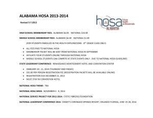 alabama hosa 2013-2014 - Alabama Department of Education