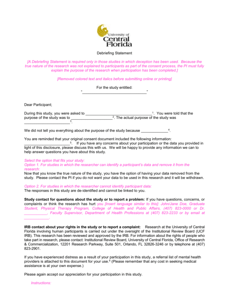 How to write a debriefing statement cover letter template recruitment agency