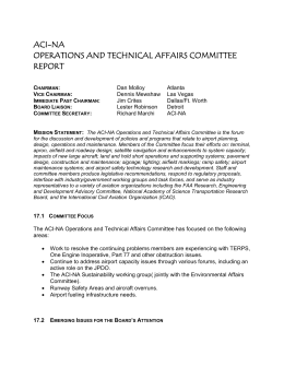 17.3 Committee Board Assignments and Status
