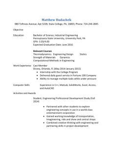 View Matthew Hudachek's resume