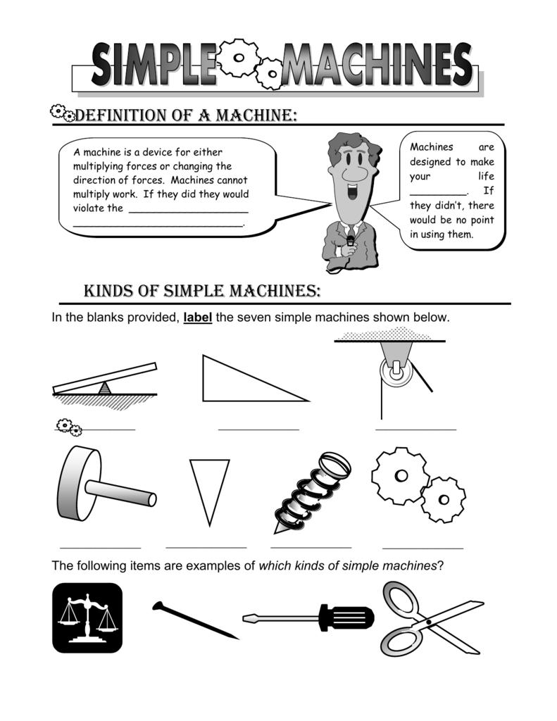 simple machines tutorial