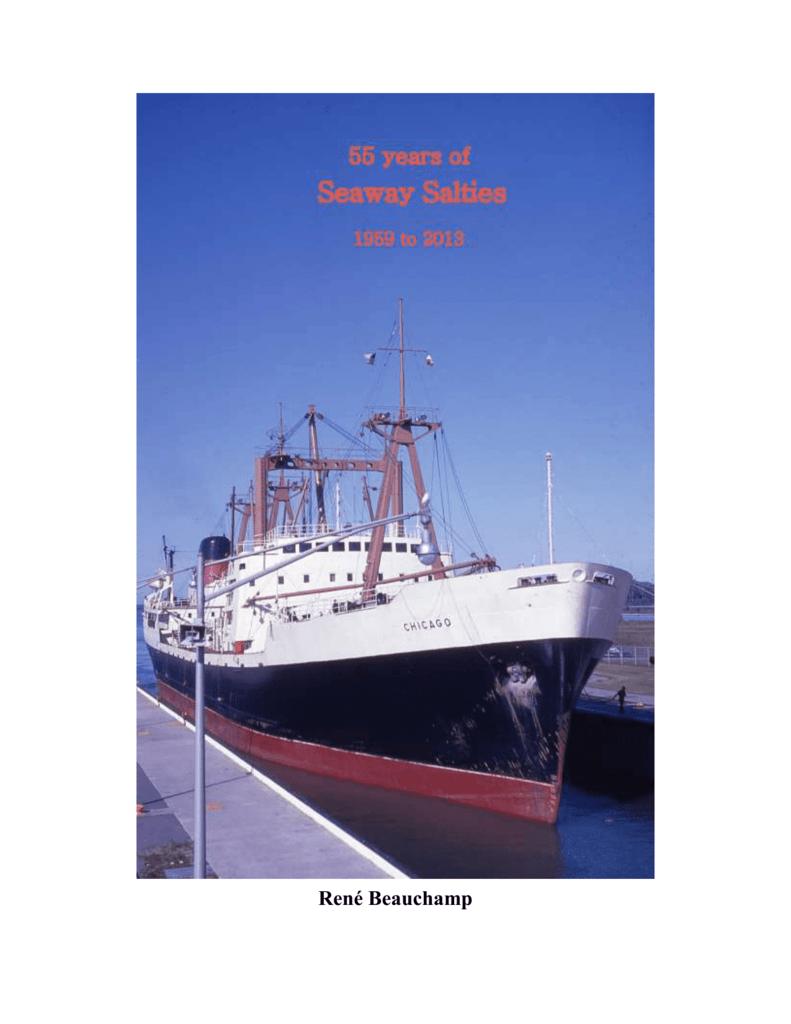 55 YEARS of SEAWAY SALTIES - Great Lakes and Seaway Shipping