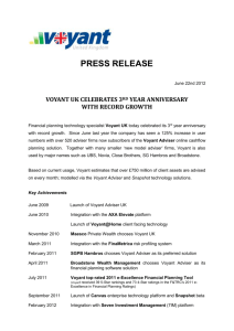 Voyant UK Celebrates 3rd Anniversary with Record Growth