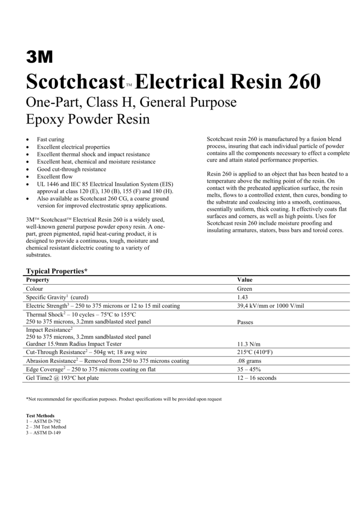 3M - Resin Technical Systems