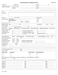 Contract Review and Approval Form