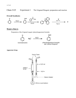 Experiment 5 Preparation Of Trans Cinnamic Acid From Knoevenagel Reaction