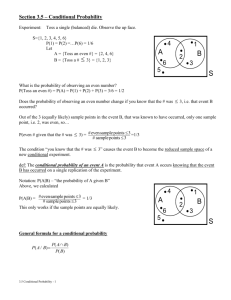 CP Stat 3.5 Lesson – Conditional Probability