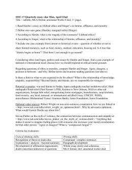 Louis pojman short summary essay