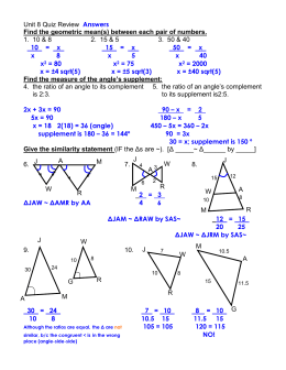 Finding missing angles worksheet answers for unit 8 quiz review ibookread PDF