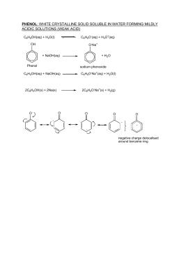 Document 14650859 phenol chemistry miller jonathan ccuart Choice Image