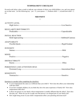 gary smalley personality profile test Best-selling pop-psychology authors gary smalley and john trent,  personality  profile test (ppt), biblical personal profiles (bpp), etc.