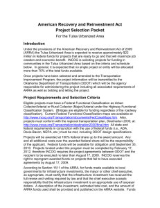 Project Requirements and Selection Criteria