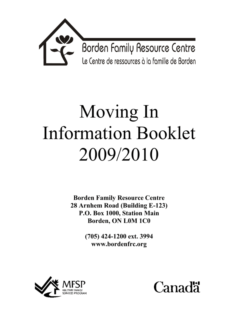 Borden family resource centre