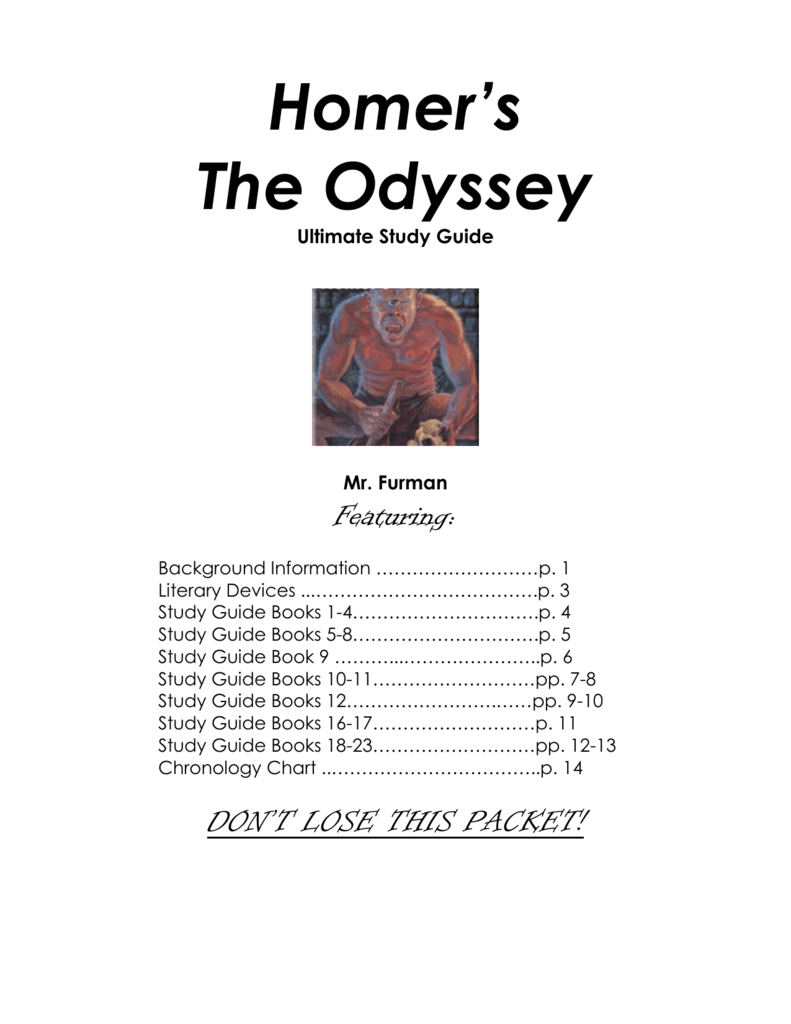 The odyssey book 12 analysis of data