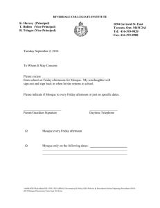 Mosque Permission Form Sept 2014