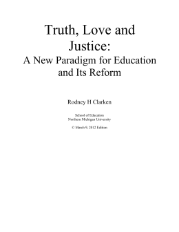Applying the New Paradigm to Education and Its