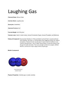 Laughing Gas - PLHS
