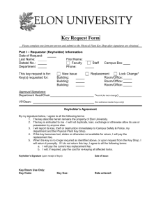 Key Request Form (Word Doc)