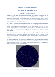 September 2015 - Dundee Astronomical Society