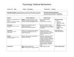 LP 21 Defense Mechanisms