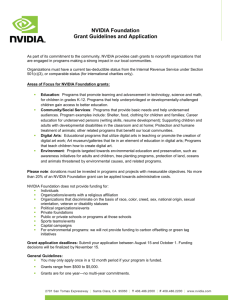 NVIDIA Foundation