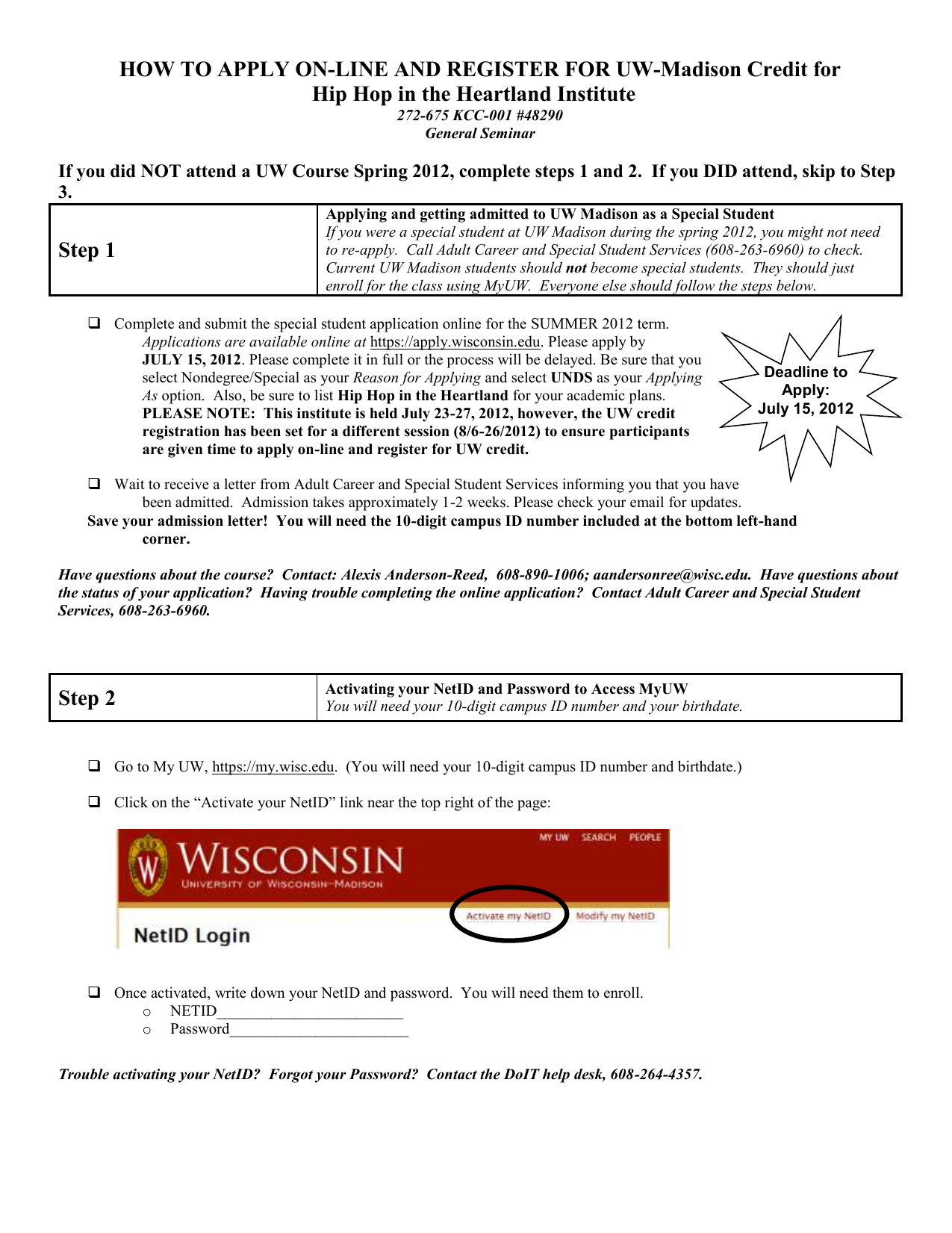 Uw Madison Application >> Getting Uw Madison Credit For Write By The Lake English Xxx