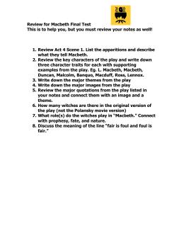 making meaning macbeth act 2 answers rh studylib net