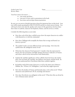 the scarlet letter essay topics the scarlet letter essay topics scarlet letter test fulton county schools