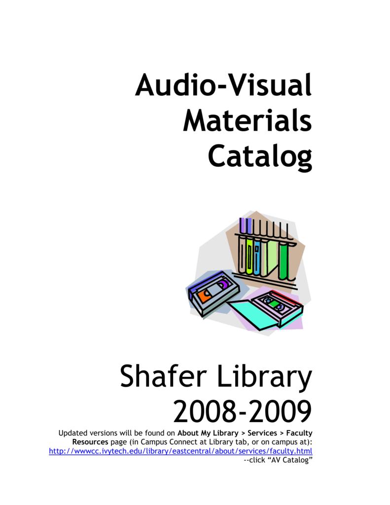 Audio-Visual - Ivy Tech Community College
