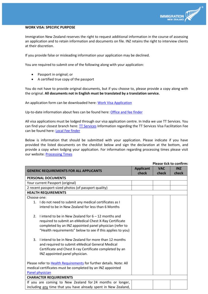 Free Form 2018 Immigration Medical Form Free Form