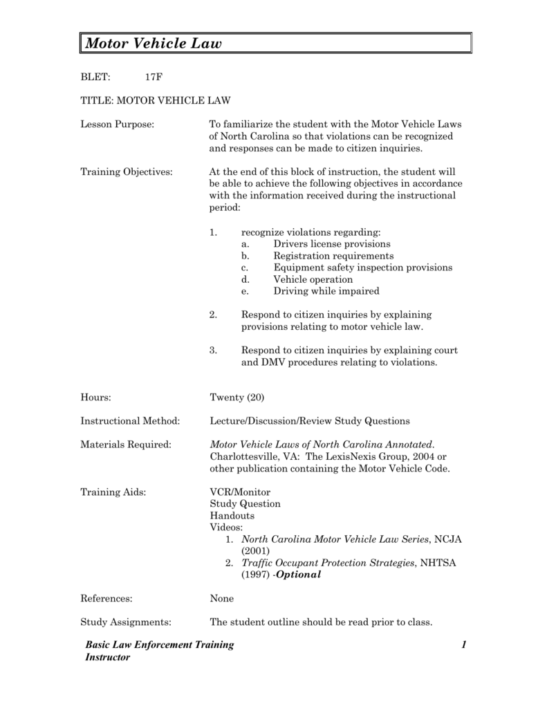 nc blet training objectives study guide