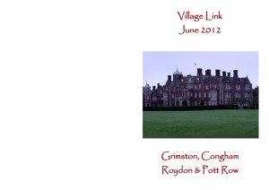 June 2012 - Grimston, West Norfolk