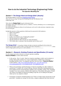 How to do the Industrial Technology (Engineering) Folder