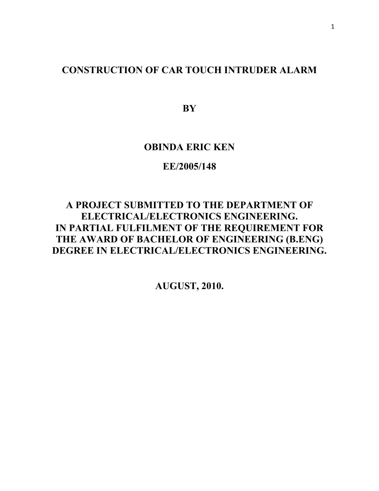 Construction Of Car Touch Intruder Alarm Multi Zone Transistor Circuit Schemati Diagram 008536342 1 165a418ae1cae178fc8f152a5c00adea