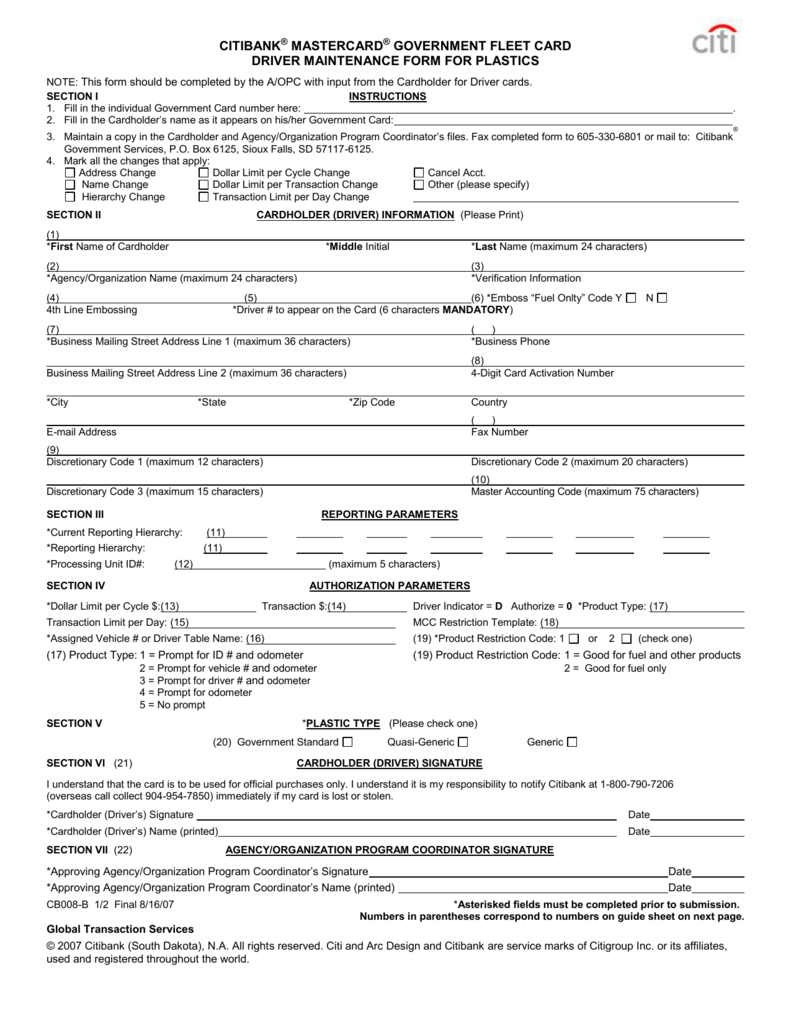 driver maintenance form for plastics