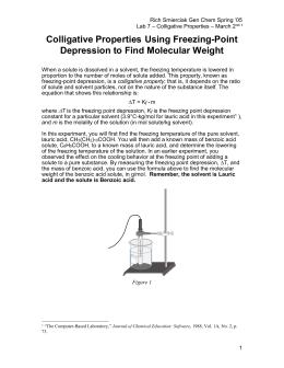 Density determination lab report