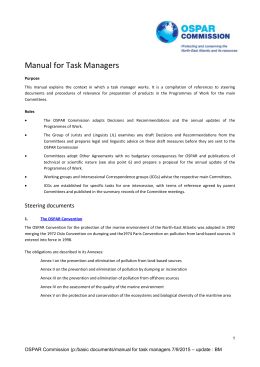 Manual for Task Managers