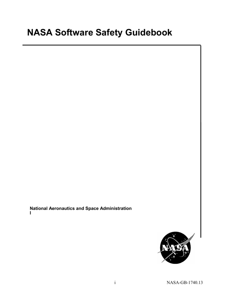 Nasa Software Safety Guidebook Csci 255 Flip Flops 008541568 1 5561416b47d26c6d2357118c296521bf
