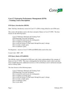 Management Orientation - Information Technology