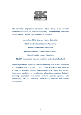 SEC Group Response to the Construction Act Consultation Document