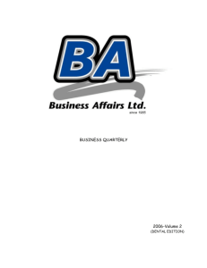 Microsoft Word - Business Affairs Ltd.