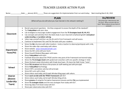 Action Plan - Renee' Yates2Math