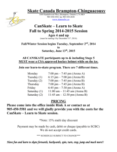 CanSkate – Learn to Skate - Skate Canada Brampton Chinguacousy