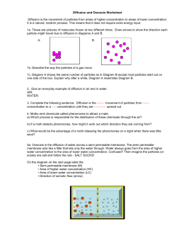 Worksheets Diffusion And Osmosis Worksheet diffusion and osmosis worksheet answers worksheet
